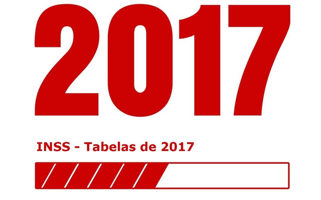 Tabelas do INSS 2017