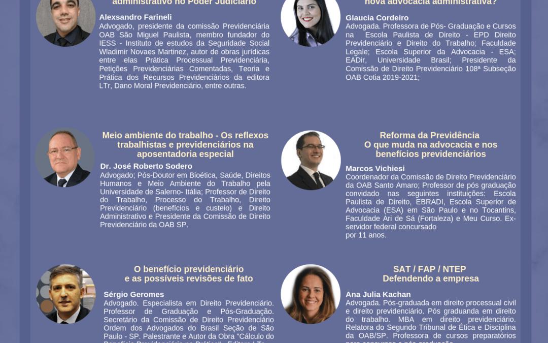 I SIMPÓSIO REGIONAL DE DIREITO PREVIDENCIÁRIO- OAB COTIA